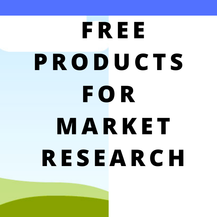 FREE Products for MarketResearch: Affiliate and CPAMarketing